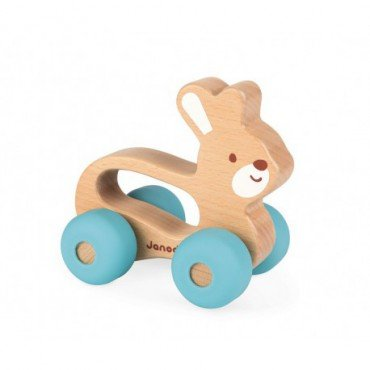 Janod vehicle Rabbit Baby Pop