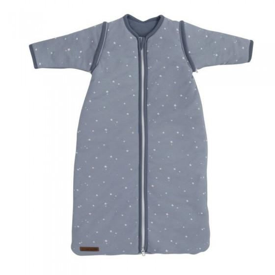 Little Dutch Śpiworek do spania z odpinanymi rękawami 90cm Little stars blue