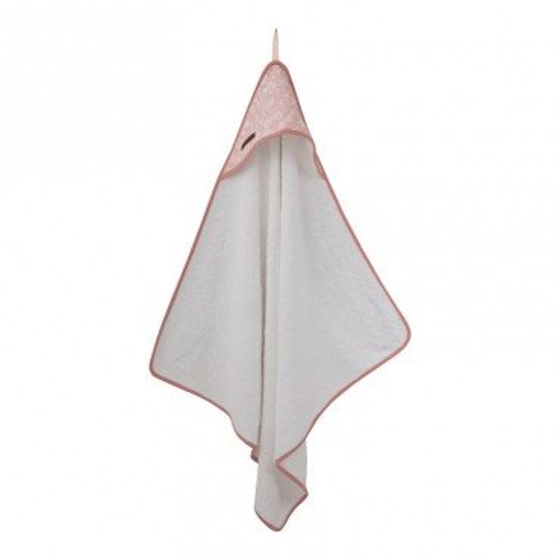 Little Dutch Ręcznik z Kapturkiem Adventure Pink