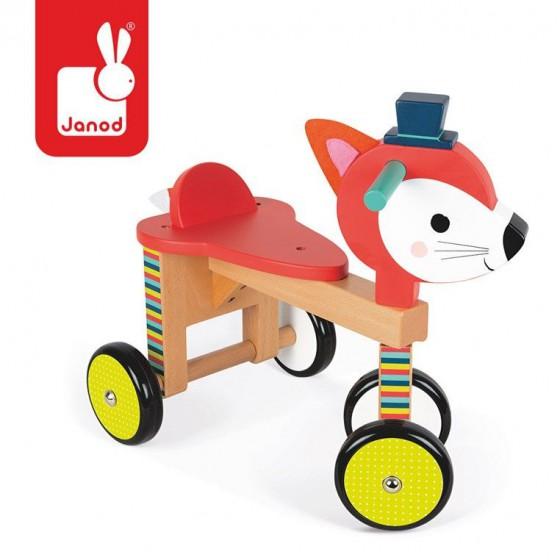 Rowerek czterokołowy Lisek Baby Forest, Janod
