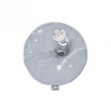 JOLLEIN PENDANT Pacifier GALAXY GRAY