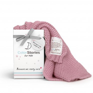 ColorStories - Blanket CottonClassic S - Heather PINK