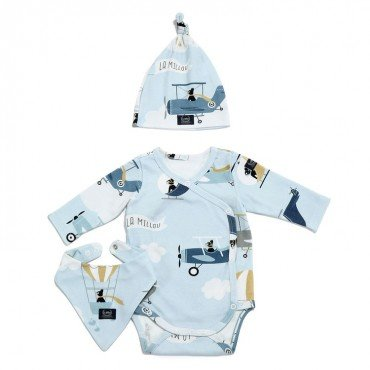 LA MILLOU BABY SET CAPTAIN ADVENTURE