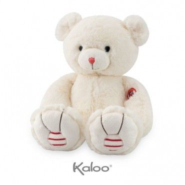 KALOO Bear 31 cm ivory collection Rouge