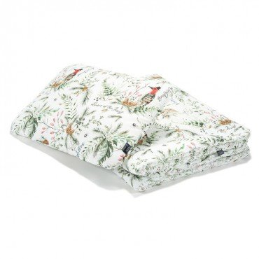 """La Millou BEDDING WITH FILLING TODDLER """"L"""" - FOREST & FOREST BLOSSOM"""