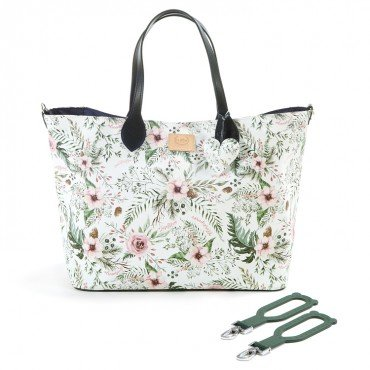 LA Millou cornucopia MEDIUM BAG WITH WILD BLOSSOM sachet ZIP PREMIUM