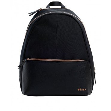 Beaba Backpack We have San Francisco, black / pink gold