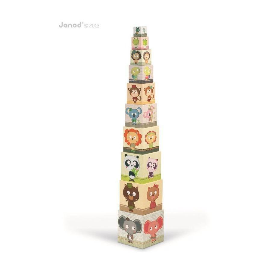 JANOD pyramid tower blocks 10 Animals