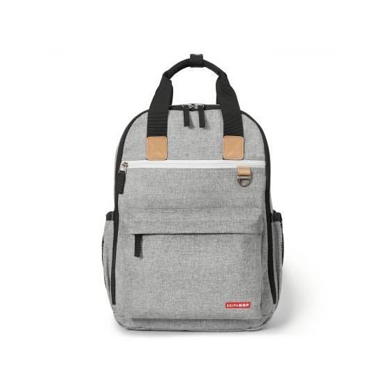 Skip Hop Duo Signature Backpack Gray Melange