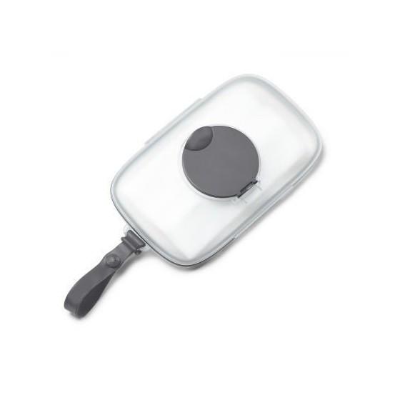 SKIP Hop Pojemnik na mokre chusteczki Swipes Grey