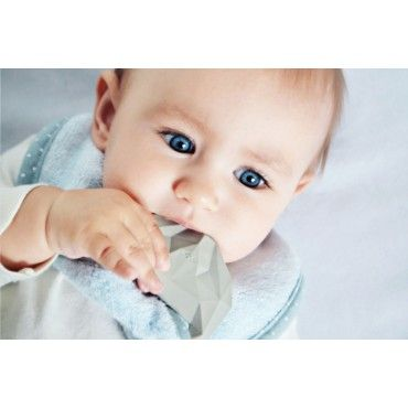 LULLALOVE bib SupeRRO BABY WITH HEVEA rubber teethers