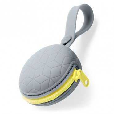 Skip Hop Silicon Case For pacifiers Gray