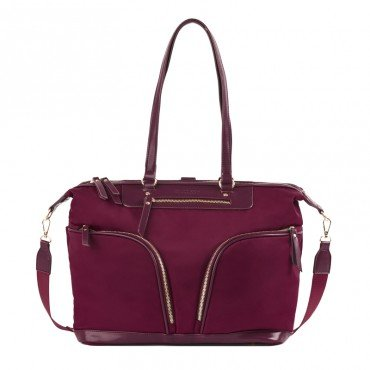 JOISSY BAG AND BACKPACK 2W1 LUNA BURGUNDY