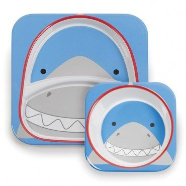 Skip Hop Zoo Shark set mealtime