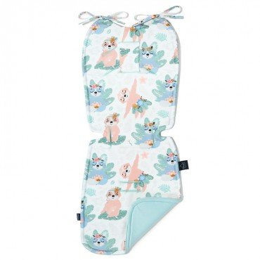 LA MILLOU THICK STROLLER PAD YOGA CANDY SLOTHS AUDREY MINT VELVET COLLECTION