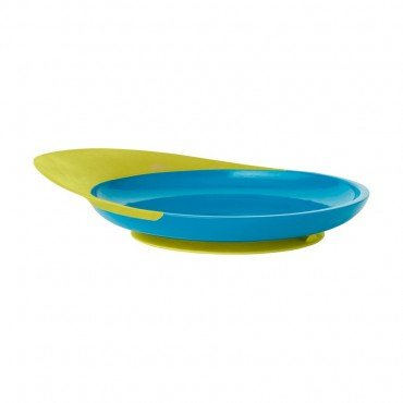 BOON with suction PLATE BLUE / GREEN