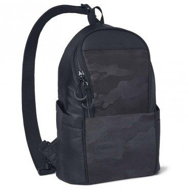 Skip Hop Paxwell Sling Backpack Black Camo