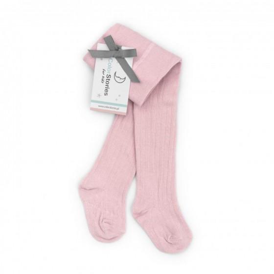 ColorStories - hazy pink tights for children 4-8 months (68-74cm)