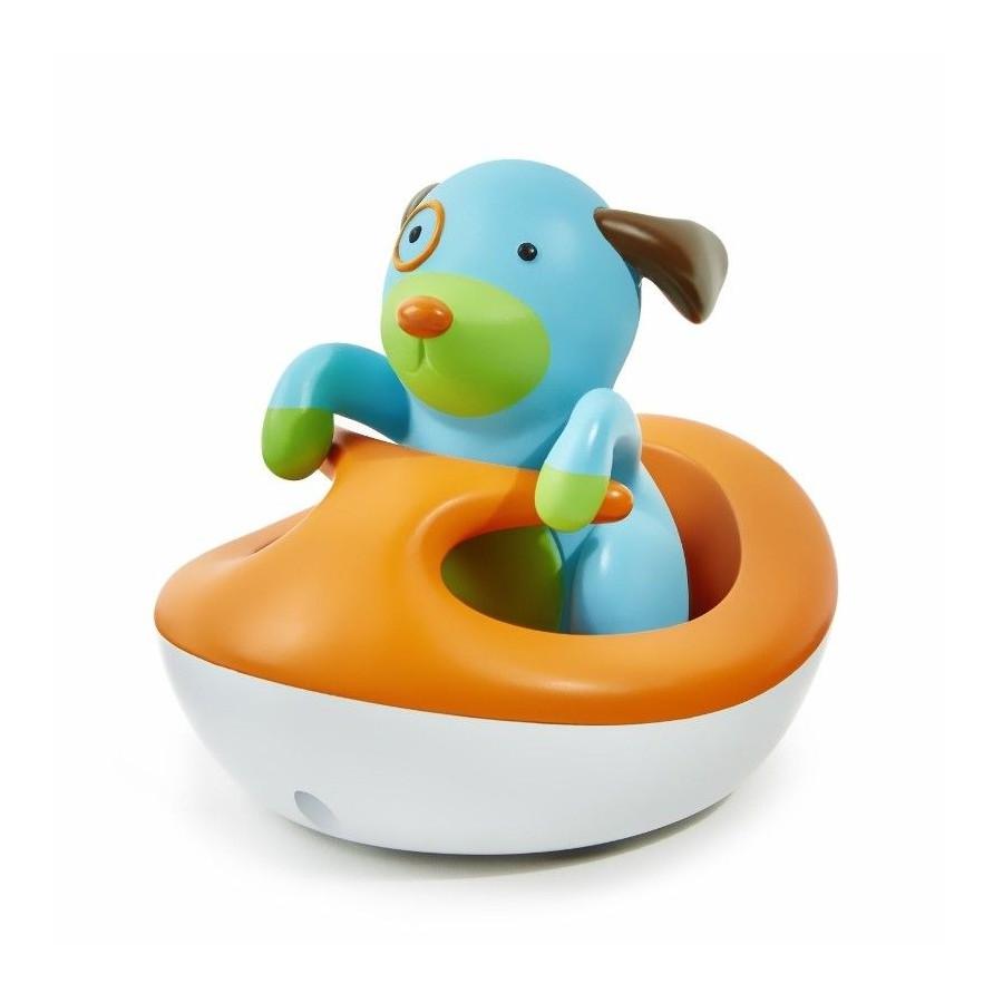 Dog Skip Hop Zoo and the floating vehicle