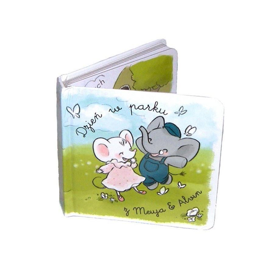 Meiya & Alvin - Dzien w parku - ksiazeczka dla Malych i Duzych