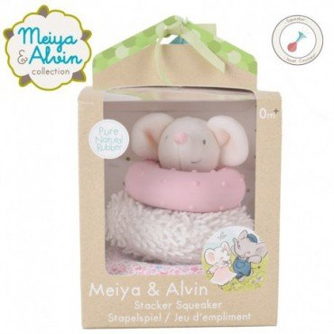 Meiya & Alvin - Meiya Mouse Stacker with Squicker and Teethers