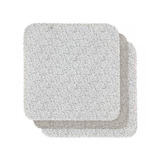 BEBE-JOU 3 OTULACZE MUŚLINOWE 70x70cm FABULOUS DOTS