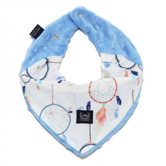 LA Millou very soft scarf DREAMCATCHER WHITE SKY