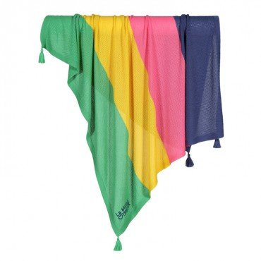LA MILLOU BAMBOO TENDER BLANKET HONEY RAINBOW TOUCH