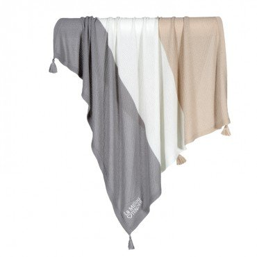 LA MILLOU BAMBOO TENDER BLANKET WAFFLE TOFFE