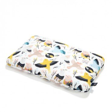 LA MILLOU BAMBOO BED PILLOW 40x60cm CUTE BIRDS VIVID