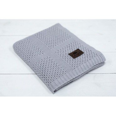 SLEEPEE BAMBUSOWY KOCYK ULTRA SOFT SMOKY GREY