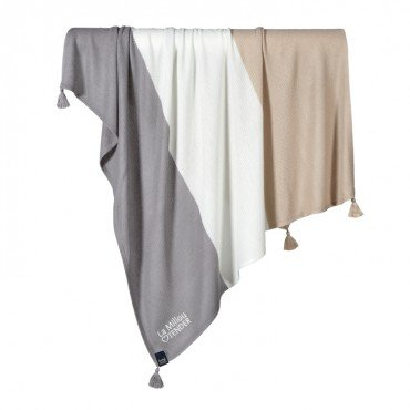 La Millou BAMBOO TENDER BLANKET - HONEY - TOFFEE
