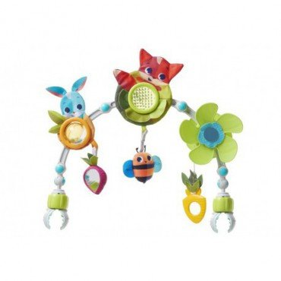 Tiny Love Łuk z zabawkami - Zabawa na łące
