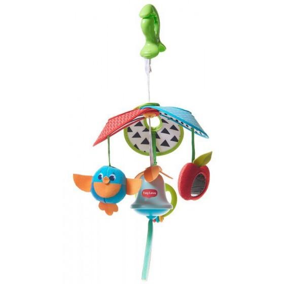 Tiny Love Karuzela podróżna kompaktowa Pack&Go - Zabawa na łące