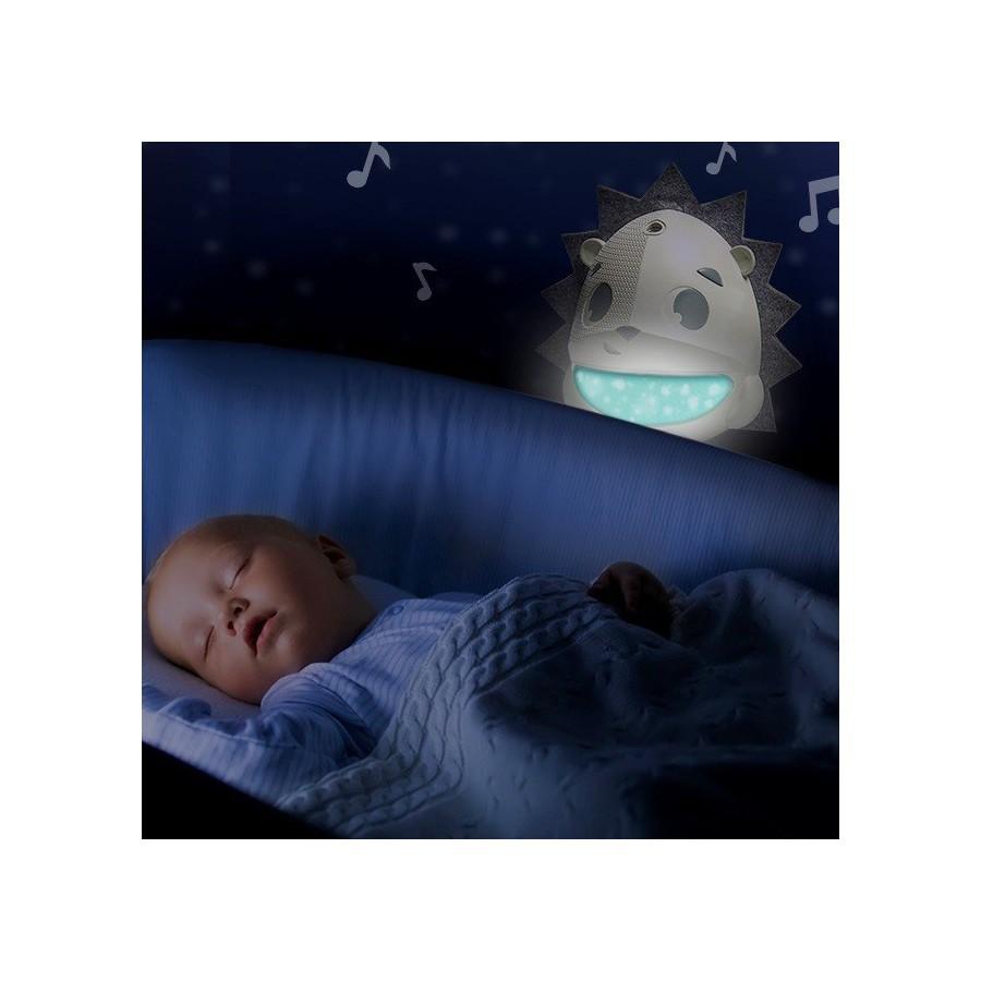 Projektor/Pozytywka/Lampka z sensorem płaczu - Jeż