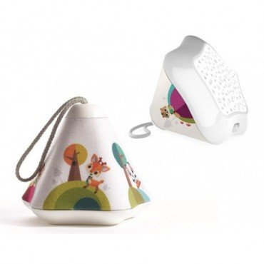 Tiny Love Lamp Projector / musical Little Dreamer with a sensor 3in1 - Forest Land