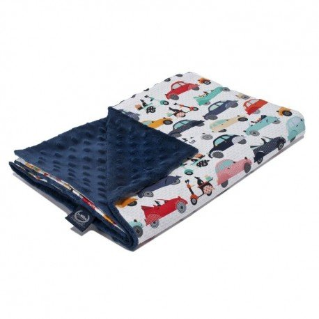 LA Millou blanket Kilkenny LA MOBILE LIGHT NAVY