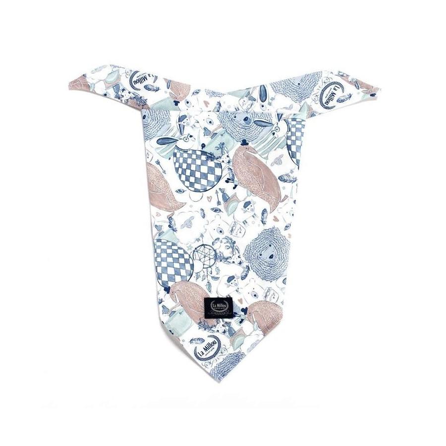 LA Millou TRIANGULAR handkerchief Millou LA LA FAMILY