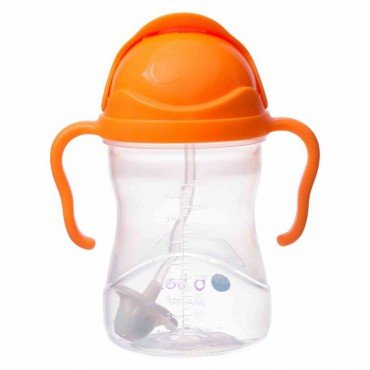 B.BOX INNOVATIVE NEW BOTTLE WITH ORANGE straw