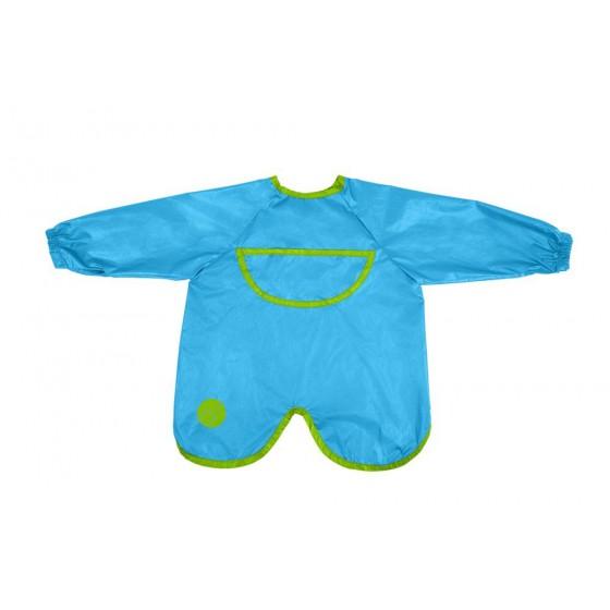 b.box waterproof apron-bib with sleeves ocean breeze
