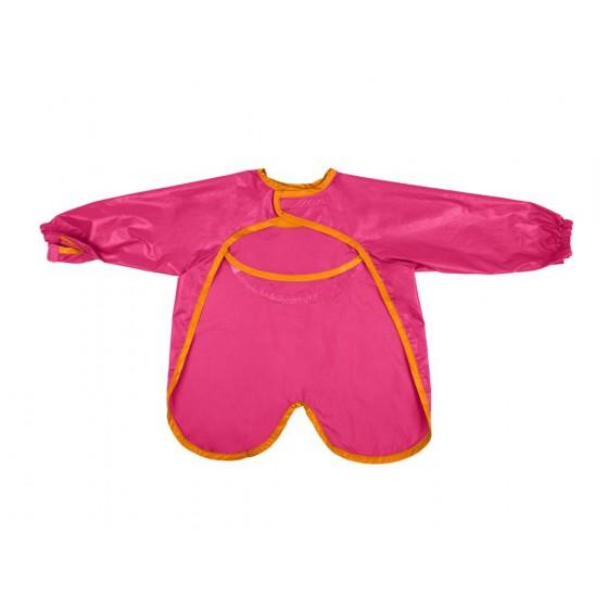 b.box waterproof apron-bib with sleeves strawberry shake