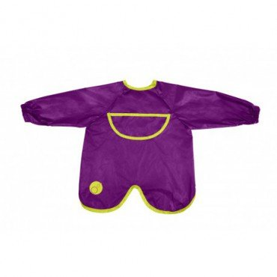 b.box waterproof apron-bib with sleeves passion splash