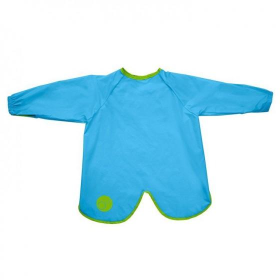 b.box Large waterproof apron-bib with sleeves ocean breeze