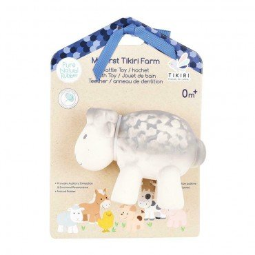 Tikiri TEETHING TOY SHEEP FARM IN THE BOX