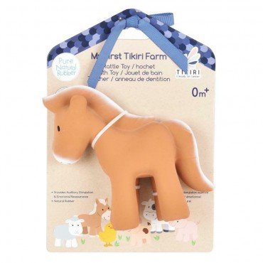Tikiri TEETHING TOY HORSE FARM IN THE BOX