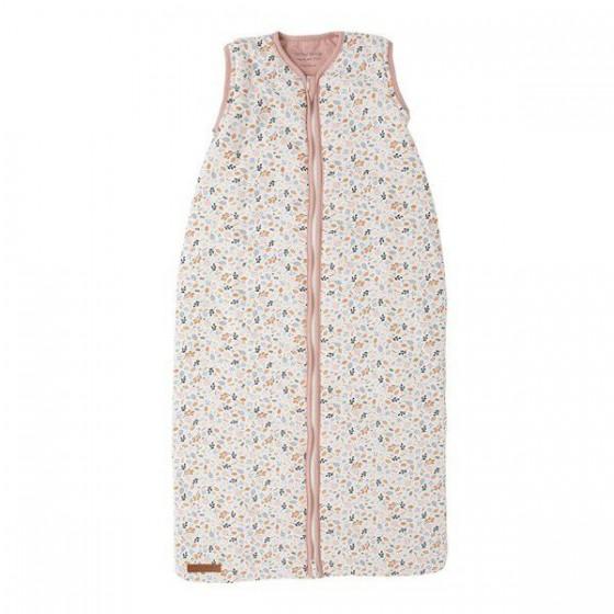 Little Dutch Śpiworek do spania bawełniany bez rękawków 90cm spring flowers