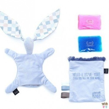 LA MILLOU THERMO BUNNY - POWDER BLUE - LA MILLOU FAMILY CHESSBOARD
