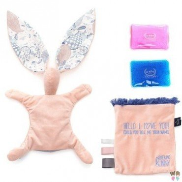 LA MILLOU THERMO BUNNY - POWDER PINK - LA MILLOU FAMILY