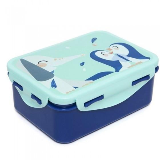 Petit Monkey - Śniadaniówka Lunchbox Słoń i Pingwiny
