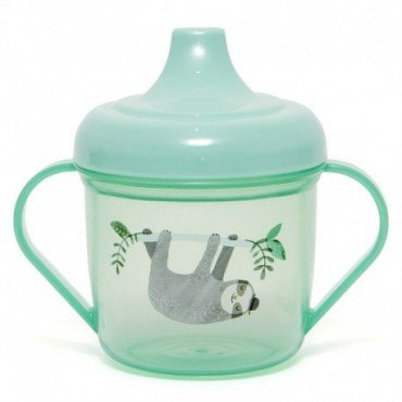 Petit Monkey - Transparent cup with a mouthpiece training Sloth